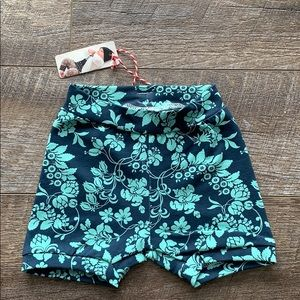 Other - Blue Floral Shorties